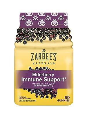 zarbee's, elderberry, elderberry immune support, immune support