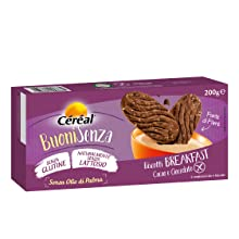 cereal, biscotti cereal, biscotti senza glutine, biscotti senza lattosio, biscotti buonisenza