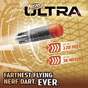 Nerf Ultra Darts, the Farthest Flying Nerf Darts Ever