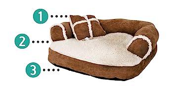 pet bed, medium size dog bed, extra small dog bed, dog stuff, small pet bed, aspen pet bed, small