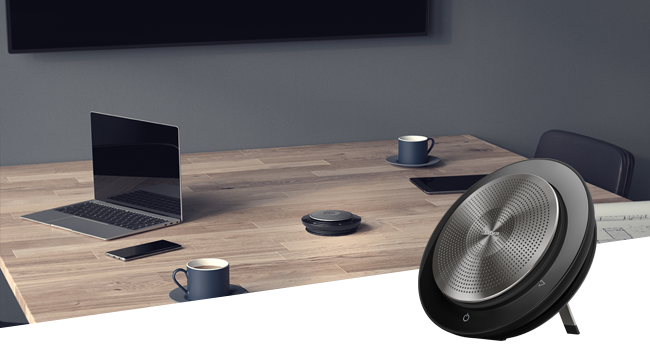 Engineered to make conference calls simple and collaboration easy, the office to the home office