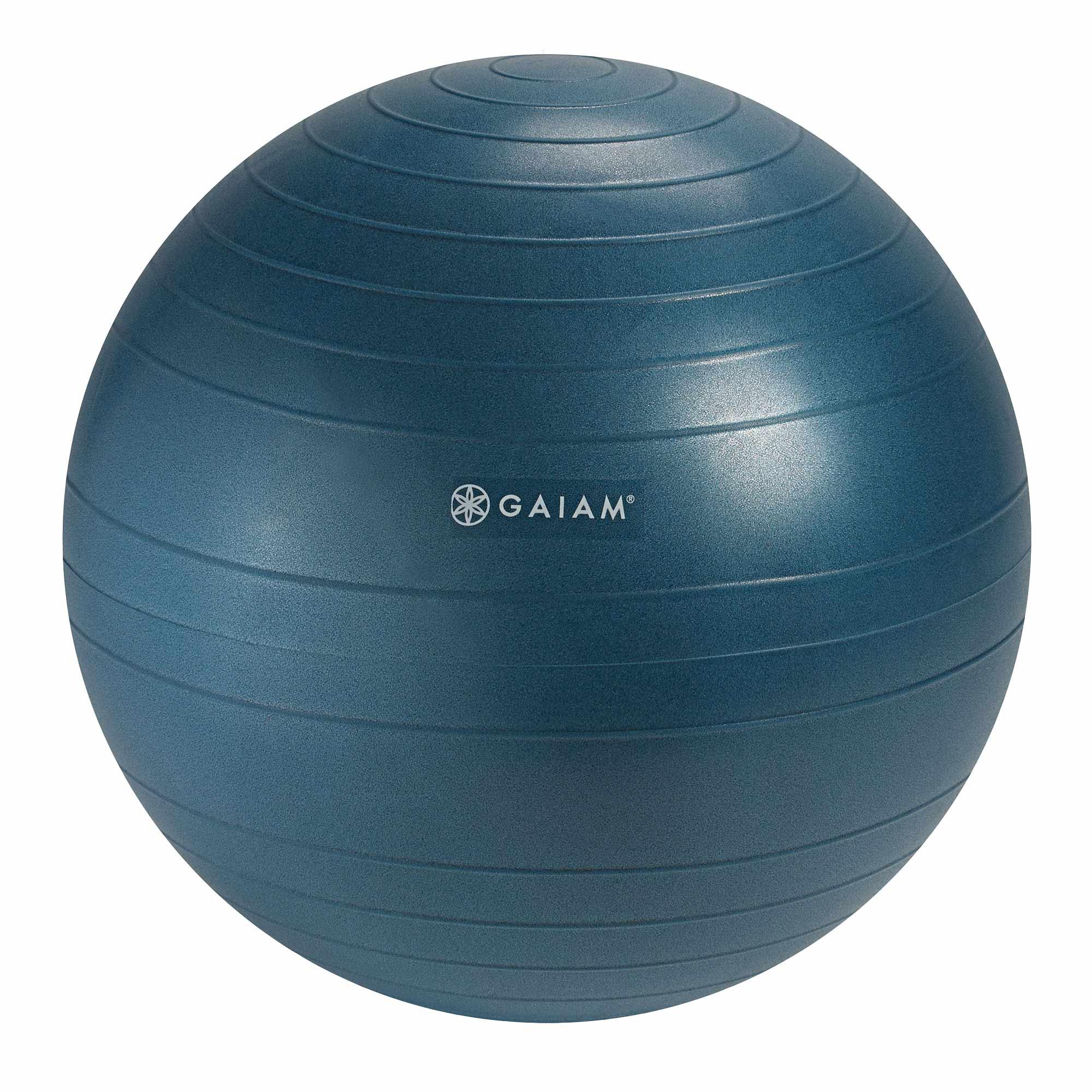 Gaiam balance ball chair replacement ball 52cm blue exercise balls accessories amazon canada - Replacing office chair with exercise ball ...