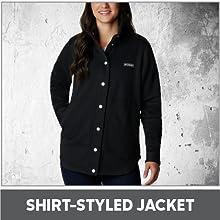 Shirt-Styled Jacket