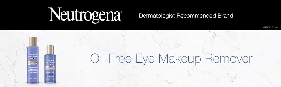Neutrogena Oil Free Eye Makeup Remover Product Line