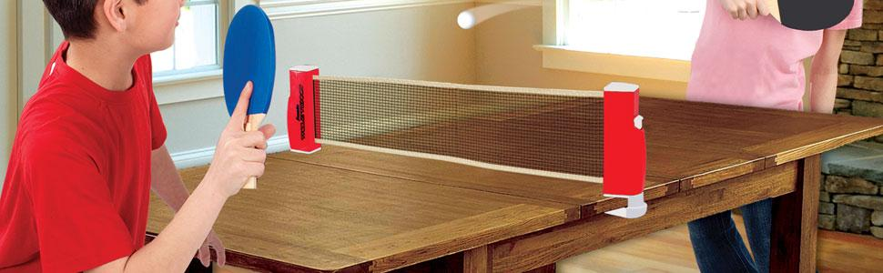 Franklin sports table tennis to go includes for Small ping pong balls