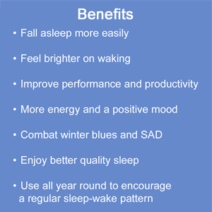 lumie, bodyclock, shine, benefits, sleep, wake, problem, SAD, winter blues