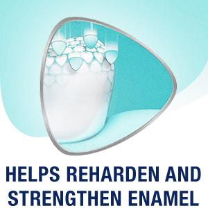 Helps Reharden And Strengthen Enamel