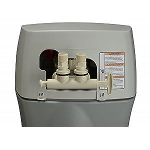 installation for whirlpool water softener