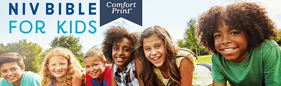 Bible for Kids; Comfort Print