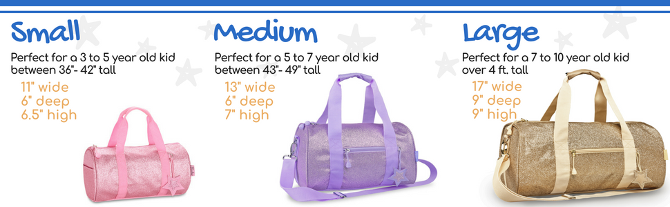 54cd147f6e Duffle Bag Size Chart