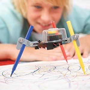 doodling robot, 4m robots