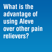 aleve pain relievers
