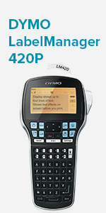 dymo 420 label maker