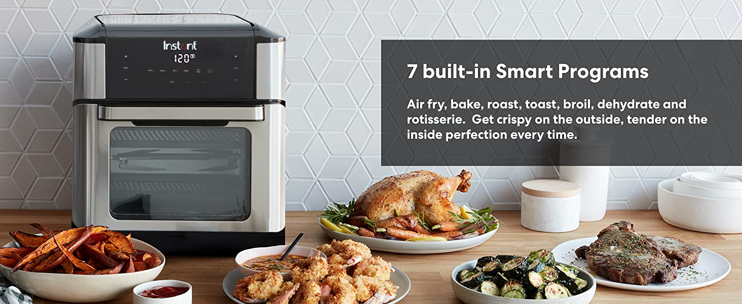 Instant Pot, Insta Pot, multicooker, air fryer, toaster oven, convection oven