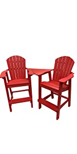 Charming Phat Tommy Recycled Poly Folding Adirondack Chair, Phat Tommy Deluxe  Recycled Poly Folding Adirondack Chair, Phat Tommy Recycled Poly Balcony  Chair ...