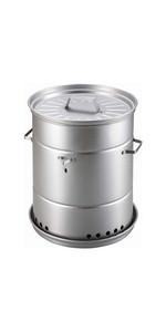 キャプテンスタッグ(CAPTAIN STAG) スモーカー 燻製 燻製器 ビア缶チキン スモーカー 外径260×高さ315mm スモーカー対応 UG-1058