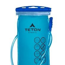 3 liter hydration bladder included
