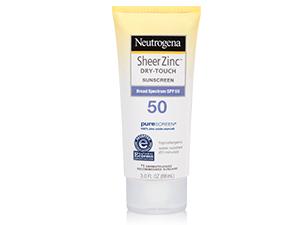 Neutrogena Sheer Zinc dry-touch sunscreen lotion