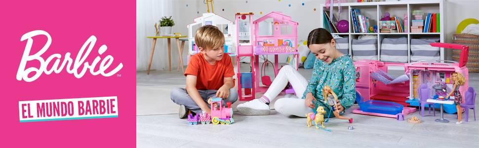 Amazon Es Barbie Quiero Ser Pizza Chef Muneca Y Accesorios Mattel