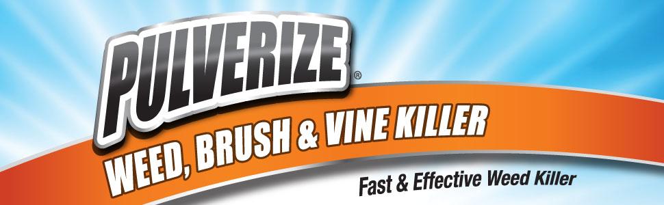 Pulverize Weed, Brush & Vine Killer