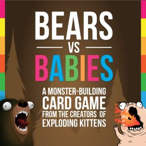 A Card Game From the Creators of Exploding Kittens Bears vs Babies