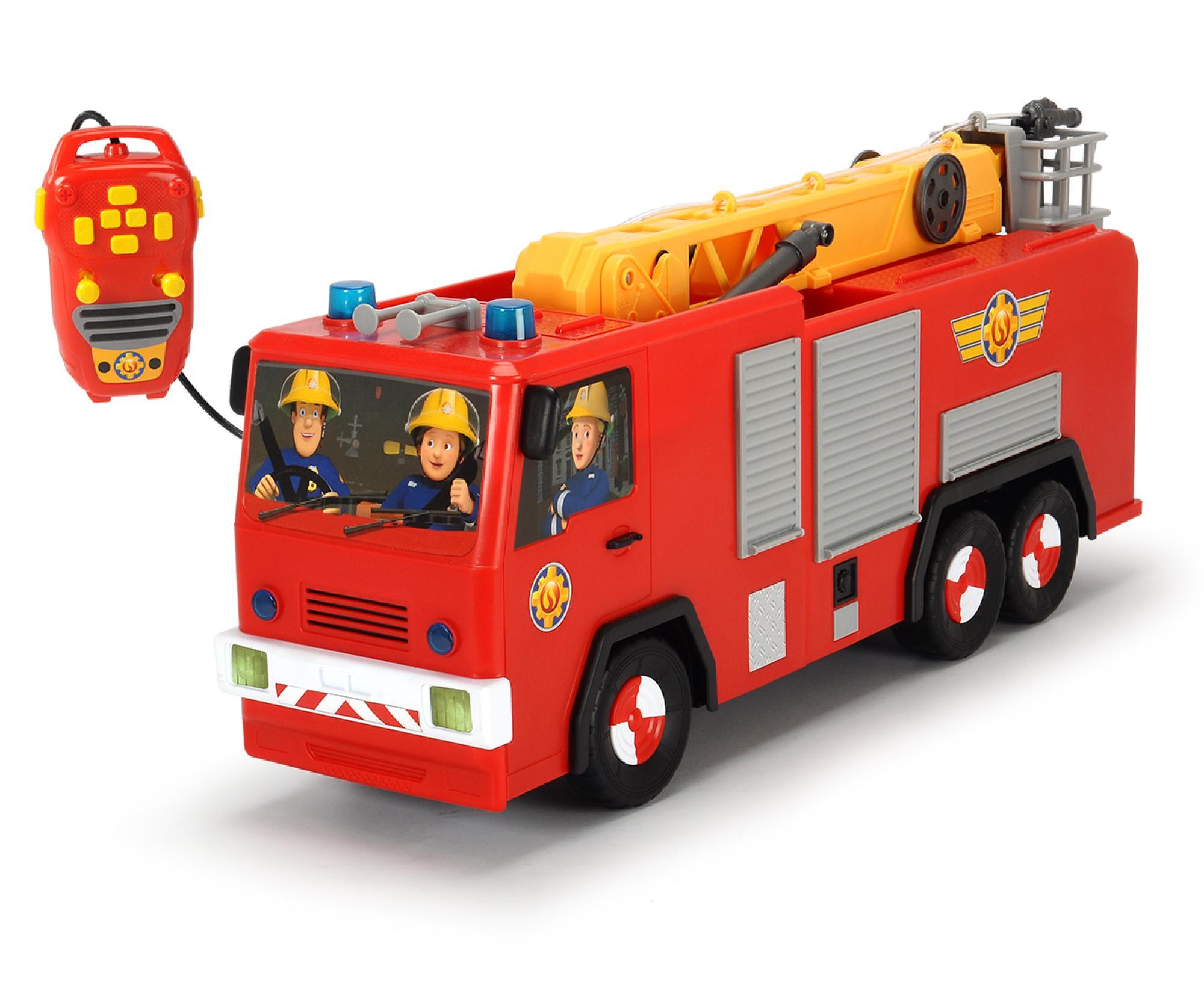 Dickie Toys 203099001 - Feuerwehrmann Sam Hero Jupiter