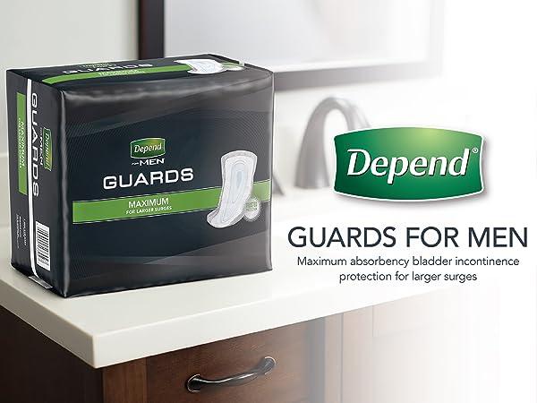 Depends Guards Men