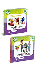 LeapStart 2 Book Combo Pack- Math in Action and Toys Save the Day