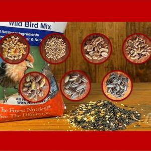 Lyric 2647418 26-47290 Supreme Wild Bird Mix-20 lb  Bag, 20 Pound, White