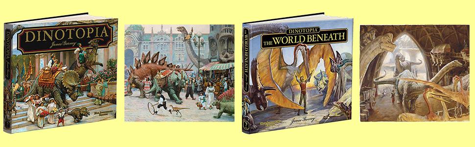 Dinotopia, Fantasy, Gurney, Dinosaurs