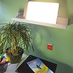 TRAVlite by northern light technologies 10,000 Lux bright lighting for home or office alertness