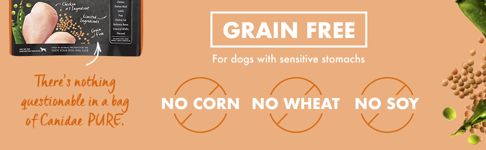 limited ingredient dry dog food grain free chicken sensitive stomach