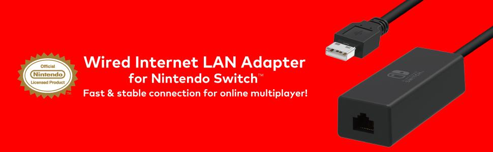 Amazon.com: Nintendo Switch Wired Internet LAN Adapter by