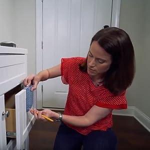 Cabinet hardware installation,template,builder,kitchen,drawer,door
