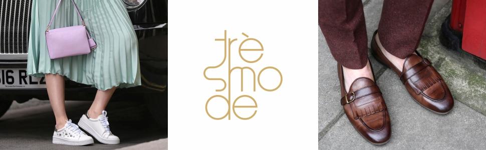 tresmode , mens , womens , handbags , formal shoes , casual , pumps , sneakers , wedge heels sandals