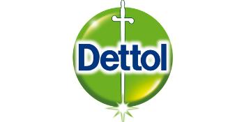 Dettol Logo allesreiniger Katoenfris Schoonmaken Dettol fris