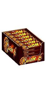 Lion - Der Schokoriegel mit Karamell und Knusper Getreide