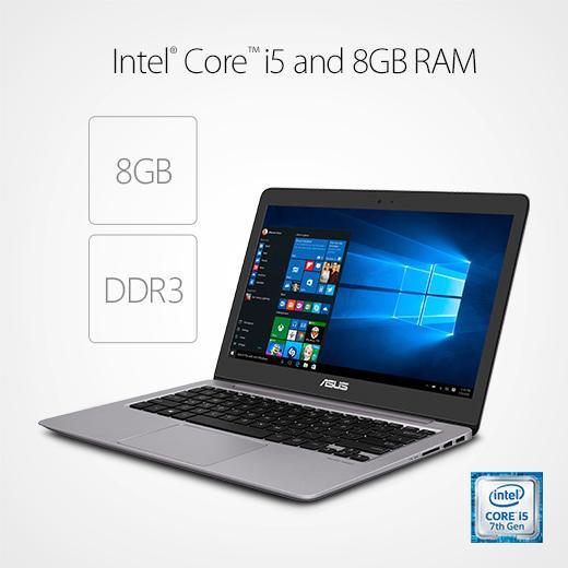 new asus zenbook fhd 13 3 in 256gb ssd 8gb ram intel core i5 pc laptop ultrabook ebay. Black Bedroom Furniture Sets. Home Design Ideas