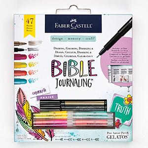 amazon com faber castell bible journaling kit