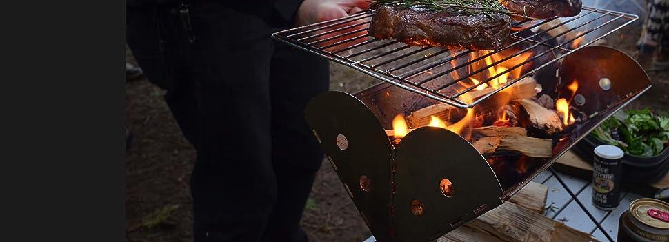 Recherche petits barbecues pour grillades nomades Elle
