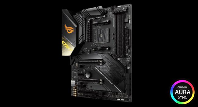 ASUS ROG Strix X570-F Gaming ATX Motherboard with PCIe 4 0, Aura Sync RGB  Lighting, Intel Gigabit Ethernet, Dual M 2 with Heatsinks, SATA 6GB/S and