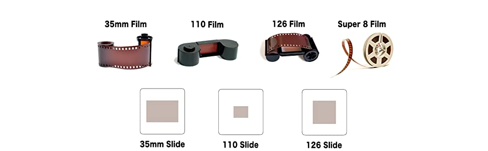 Amazoncom Kodak Digital Film Scanner Converts 35mm 126 110