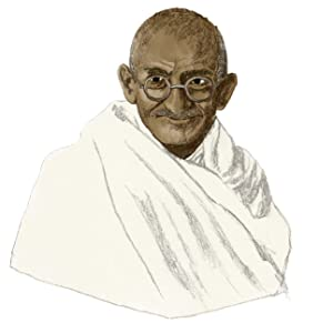 Mohandas Gandhi Indian nation independence rule vegetarian believed in non-violence toward living - The Power Book: What Is It, Who Has It And Why?