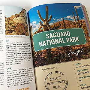 Collect National Park Stamps passport style