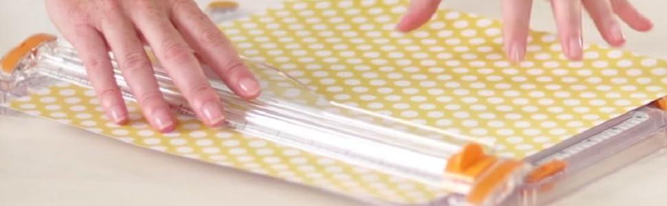 SureCut Deluxe Craft Paper Trimmer, 12 Inch