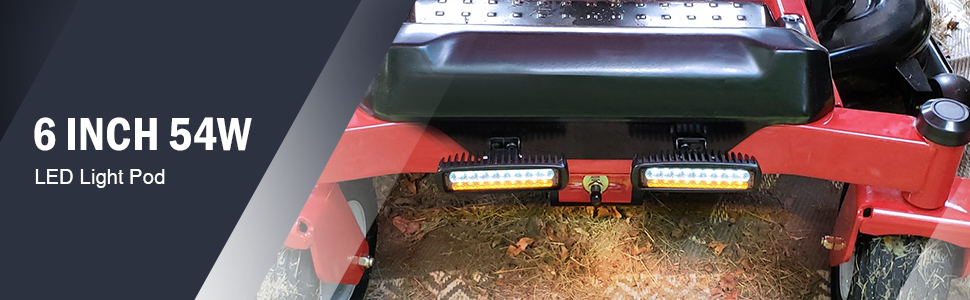 nilight led light bar led light pod led fog light offroad led light bar