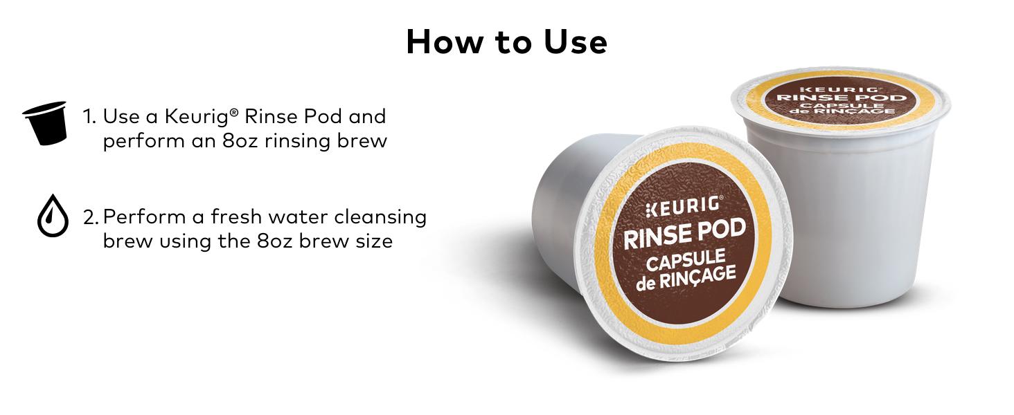 Keurig K-Cup Rinse Pods, Keurig Rinse pods, Keurig cleaning pods, Keurig maintenance