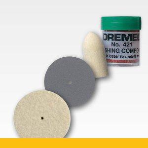 Dremel Estilo Pre-pulido Kit 47 para los Metales Dejando a Pulido Acabado Mate
