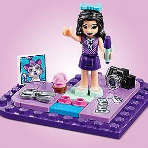 LEGO Bausteine & Bauzubehör LEGO® Friends 41355 Emmas Herzbox