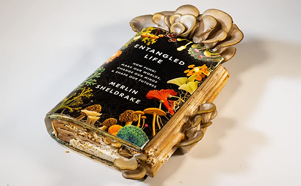 entagled life;Mycology;nature;mushrooms;enviornmental science;superfoods;gifts for dad;books for men